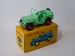 Jeep-version-civile-ref-25J-25-J-au-1-43-de-dinky-toys-atlas-DeAgostini