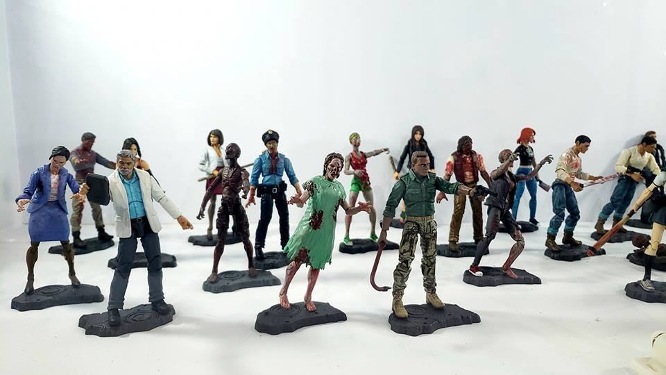1 18 FIGURE - ZOMBIE LAB LAB LAB Parts Interchangeable- (013) KENNA Free Ship acf9ab