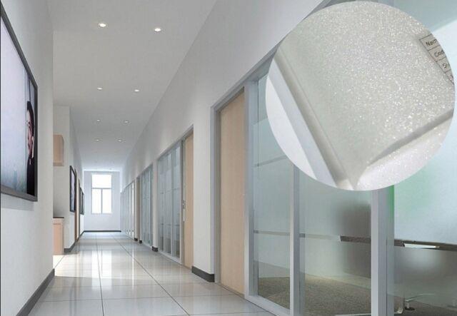 Glitzer Effekt Sichtschutzfolie Milchglasfolie 18 x 1.22 meter selbstklebend