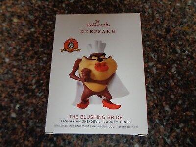 The Blushing Bride Limited Edition Hallmark Ornament Looney Tunes Tasmanian She-Devil