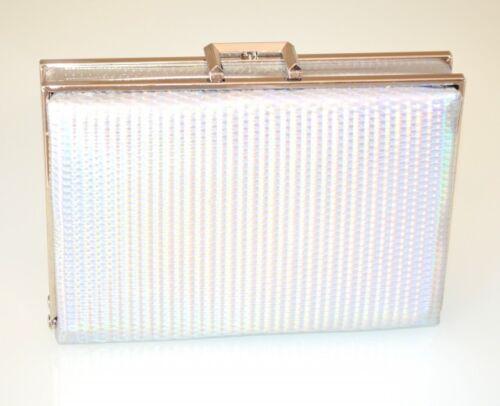 Clutch Femme Pochette Demoiselle Élégant Bag Sac E110 Argent Cérémonie Mariage q5t6x5wRp