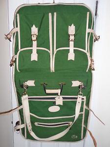 1382e0549ad35 Vintage Lark Izod Lacoste Verde Vestido Traje Plegable llevar en el ...