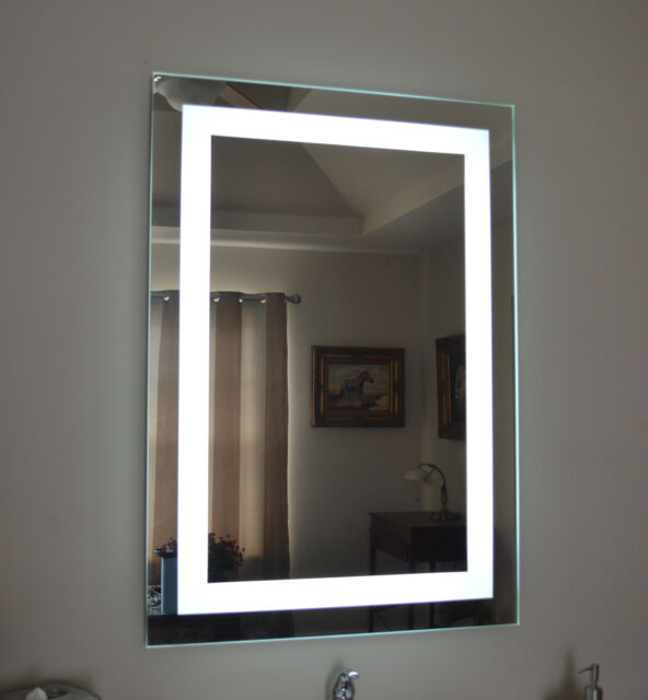 Wall Mounted Lighted Vanity Mirror Led Mam82836 Commercial Grade 28