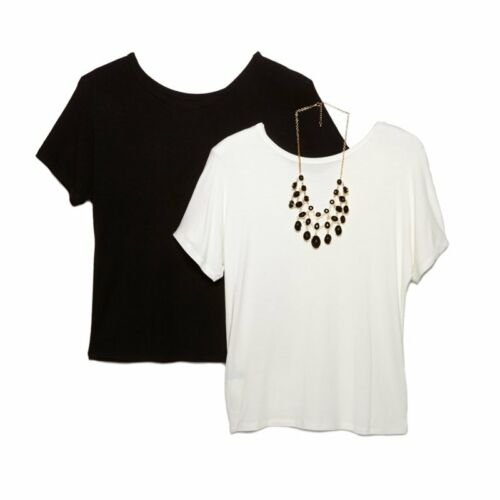 IMAN Global Chic Runway Glamour 2 Tees Jeweled Necklace 399536-J