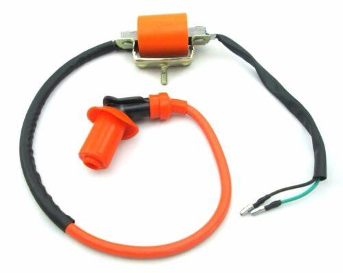 NEW HONDA Z50 Z 50 DIRT BIKE HP IGNITION COIL SPARK COIL W// SPARK PLUG BOOT