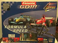 CARRERA GO FORMULA SPEED SLOT CAR RACE TRACK 60810 BOX AND INSTRUCTIONS INCLUDED