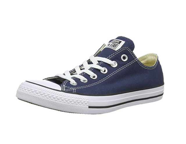 8b020182e1d1 Mens Converse Shoes Navy All Star Chuck Taylor Low Top Ox M9697 8 10 ...