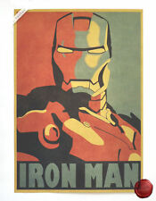 Iron Man Movie Poster Cafe Club Child Kids Room Decor A3 Poster 42*30 CM