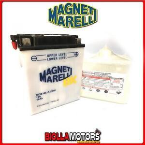 YB14L-A2-BATTERIA-MAGNETI-MARELLI-KAWASAKI-KL600-B-KLR-600-1985-1986-MOB14L-A2-S