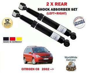 FOR-CITROEN-C8-2-0-2-2-HDi-3-0-2002-gt-2-x-REAR-LEFT-RIGHT-SHOCK-ABSORBER-SET