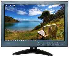 """10.1"""" HD USB Multi-media Player LCD Display HDMI AV BNC VGA TFT LED Monitor UK"""