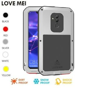 competitive price 9b7e0 50392 Details about LOVE MEI Metal waterproof Shockproof Case For Huawei Mate 20  Lite P20 Pro Nova 4