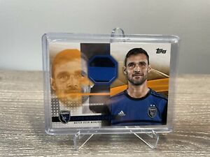 2020 TOPPS MLS SOCCER CHRIS WONDOLOWSKI PATCH RELIC CARD ORANGE #'D  21/25