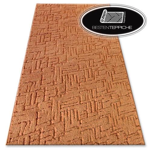 Lunga Durata Moderno Pavimento Tappeto Kasbar Zenzero Grandi Formati  su Misura