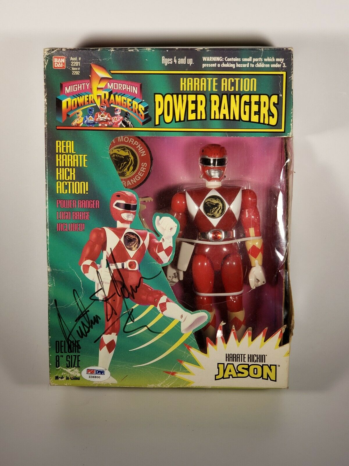 rot power ranger action figure 1994 (Cargraphed) Item 2202