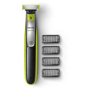 Philips-One-Blade-QP2530-Wiederaufladbar-Li-Ion-Rasierer-Trimmer-4-Kaemme