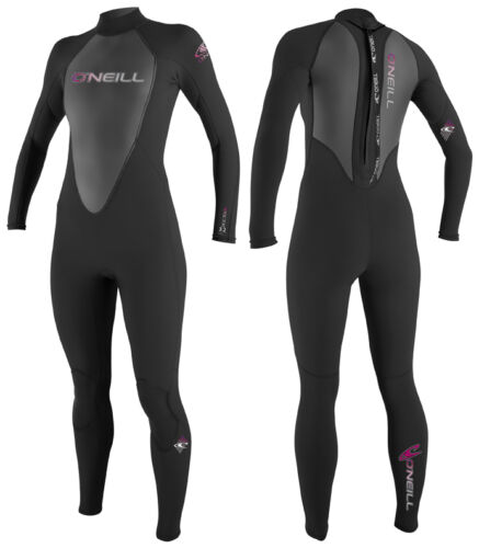 O/'Neill Full Suit REACTOR Neoprenanzug Damen schwarz