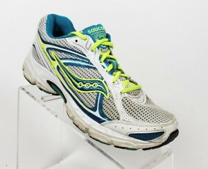 dd23a55730 Details about Saucony Cohesion 7 Womens Sz 8.5 Running Walking Sneakers  Shoes White (E2)