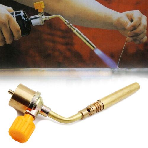 MAPP Gas Self Ignition Handle Torch Brazing Solder Propane Welding Plumbing Tool