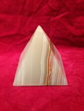 Onyx Pyramid Shape for display, Decorative Ornament