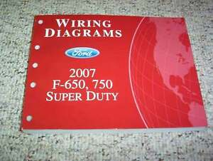 2007 ford f650 electrical wiring diagram manual diesel 6 7l v8 image is loading 2007 ford f650 electrical wiring diagram manual diesel
