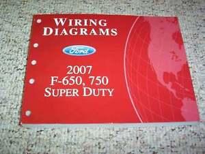 2007 Ford F650 Electrical Wiring Diagram Manual Diesel 6 ...