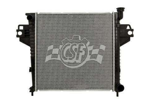 Radiator-1 Row Plastic Tank Aluminum Core CSF 3379 fits 2007 Jeep Liberty