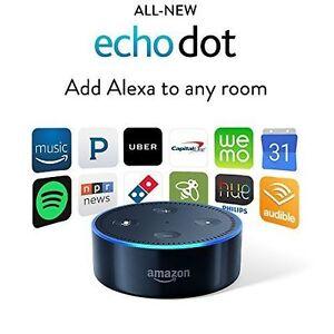 Amazon-Echo-dot-BLACK-alexa-latest-model-BRAND-NEW-SEALED