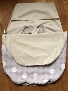 Image Is Loading JJ Cole Bundle Me Baby Car Seat Cover