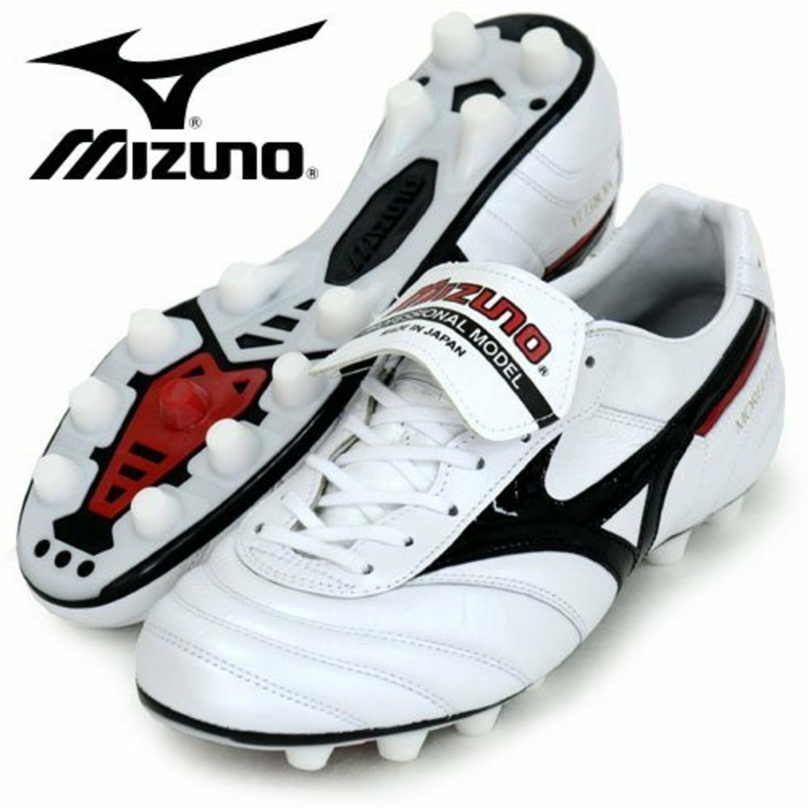 MIZUNO Soccer Football Spike chaussures MORELIA 2 P1GA1501 09 blanc US9(27cm) F S nouveau