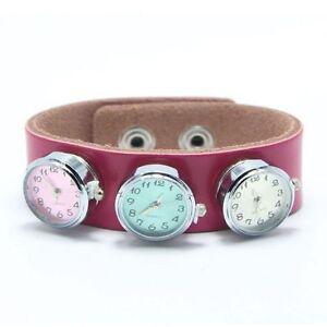 Charm-Jewelry-Bead-Fashion-DIY-Locket-For-Bracelet-Button-Clock-Watch-Snap