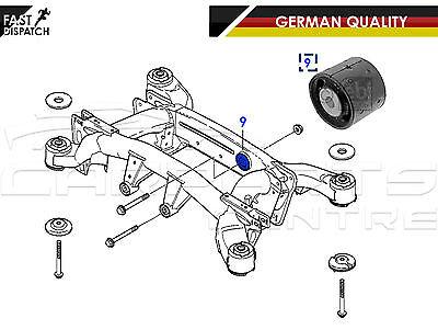 POUR BMW X5 E53 2000-2006 allemand Qualité Arrière Transmission Mount