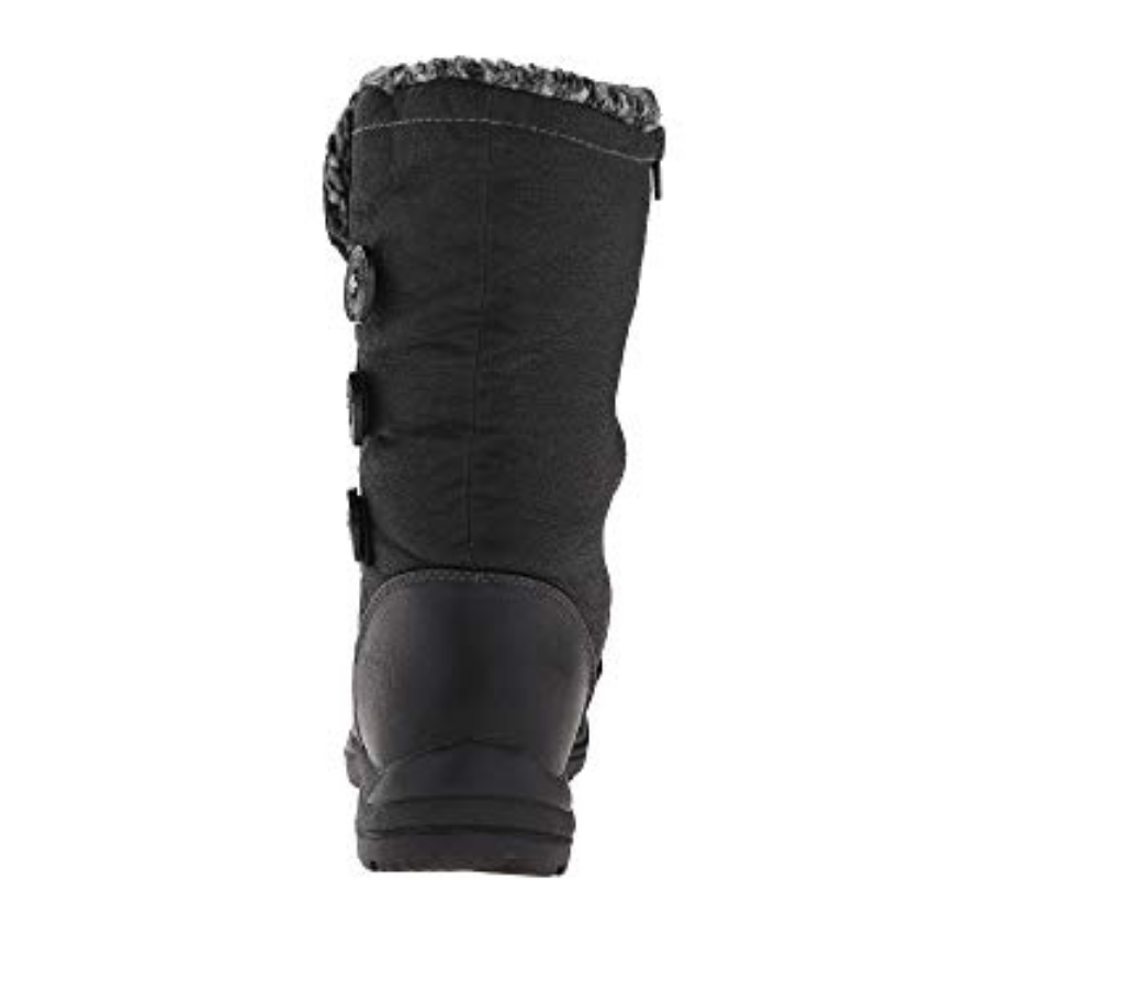 NEW TUNDRA Damenschuhe FRIEDA WATERPROOF WINTER INSULATED Stiefel Damenschuhe TUNDRA 7 BLACK b03117