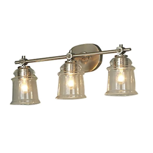 Allen + Roth Winsbrell 3-Light Nickel Traditional Vanity ...
