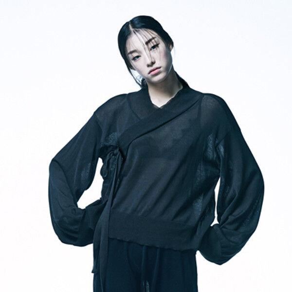 [Knitting Performance] Korea Traditional Designer Brand Fusion Hanbok Cotton Top