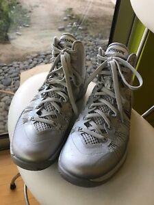 super popular 8562a 9f0d5 Image is loading Nike-Hyperdunk-2013-Grey-Lunarlon-Mens-8-Women-