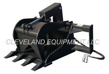 NEW STUMP GRAPPLE BUCKET ATTACHMENT Skid Steer Loader ASV Posi Track Scat Trak