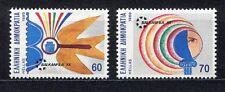 s2435) GREECE 1989 MNH** Nuovi** Balkanfila 2v