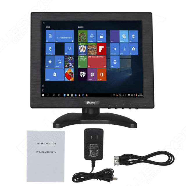 "10"" pulgadas de pantalla LCD Color HDMI BNC Monitor de vídeo para CCTV cámara"