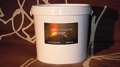 1200 Gramm 1,2 Kg Calcium Bentonit Pulver - UF - < 94% Montmorillonit
