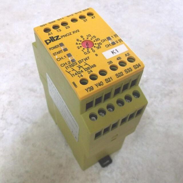 1Pc Used Pilz PNOZ XV2 30/24DC 2N/OT Safety Relay 774500 230-240 Vac, 24 Vdc