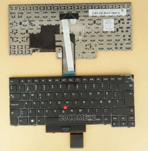 for Lenovo Thinkpad E430S S430 T430U E445 L330 keyboard Danish Dansk DN Tastatur