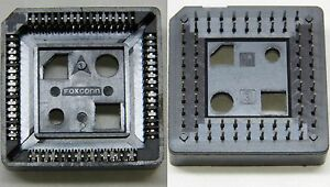 Lot de 5 - Support PLCC-68 PLCC68 68pts 68 points traversant FOXCONN