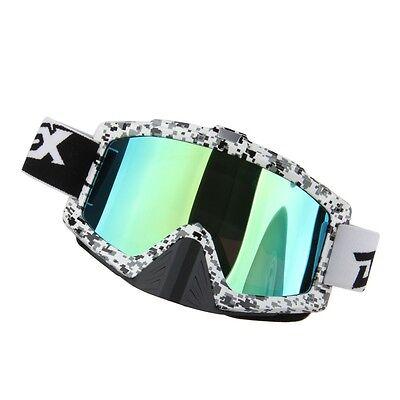 Motorcycle Motocross ATV Dirt Bike Off Road Racing Goggles Glasses Anti-UV 0243