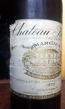 Château Kirwan, 3ème cru Margaux (Bordeaux),1973 - Vin Rouge