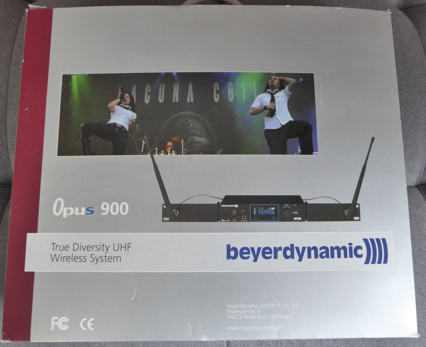 Beyerdynamic Opus NE 900 S Wireless System (841 - 865 MHz) in OVP Neu