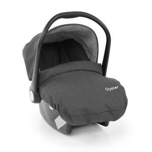 BabyStyle-Oyster-Car-Seat-Tungsten-Grey-with-Newborn-Insert-and-Apron-Cover