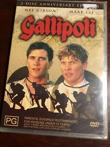 GALLIPOLI-Anniversary-Edition-Mel-Gibson-Mark-Lee-New-Sealed-2-DVDs-R4-PAL