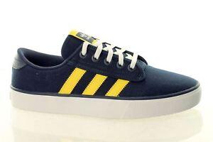 Adidas-Kiel-F37412-Para-hombre-Zapatillas-Lienzo-Skateboarding-Reino-Unido-3-5-4-4-5-solo
