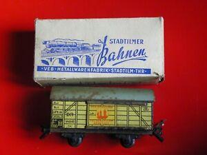Aggressiv Stadtilmer Bahnen, Spielzeugeisenbahn Spur S, Brauhauswagen, 108-648 - Ms: 2921